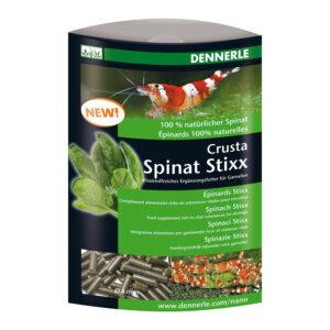 Hrana creveti Dennerle Crusta Spinach Stixx