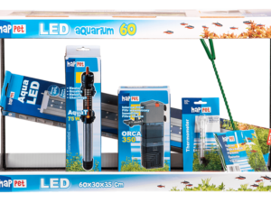 Set Complect Acvariu Happet LED 40cm 25l