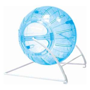 Jucarie Happet bila plastic pentru hamsteri 14.5 cm