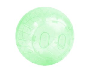 Jucarie Happet bila plastic pentru hamsteri 14.5 cm verde
