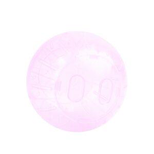Jucarie Happet bila plastic pentru hamsteri 14.5 cm roz Y016