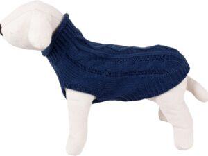 Pulover Pentru Catei Albastru S-25cm