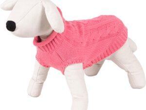Pulover Pentru Catei Roz M-30cm