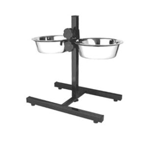 Set 2 castroane King cu suport metalic 21cm/1,6L