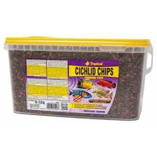 Hrana ciclide Tropical Cichlid Chips 5l 2,6kg