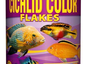Hrana ciclide Tropical Cichlid Color Flakes 250ml