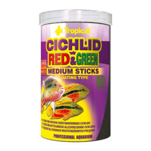 Hrana ciclide Tropical Cichlid Red&Green Med.Sticks 250ml
