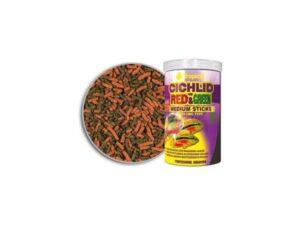 Hrana ciclide Tropical Cichlid Red&Green Med.Sticks 250ml