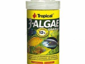 Hrana pentru pesti Tropical 3-Algae Granulat