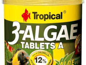 Hrana pesti Tropical 3-Algae Tablets A