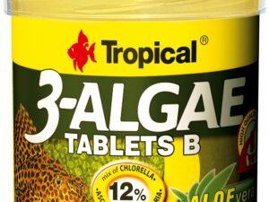 Hrana pesti Tropical 3-Algae Tablets B