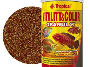 Hrana pesti Tropical Vitality&Color Granulat