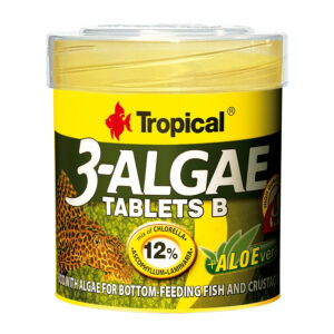 Hrana pesti acvariu Tropical 3-Algae Tablets B