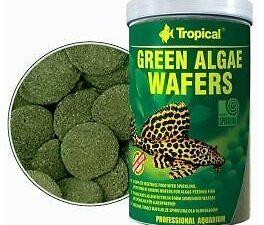 Hrana pesti acvariu Tropical Green Algae Wafers