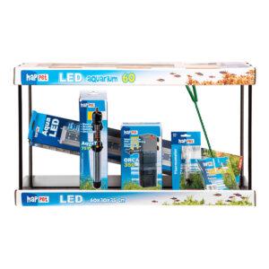 Set Complect Acvariu Happet LED 40cm 25l