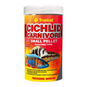 Tropical Cichlid Carnivore Small Pellet 250ml
