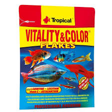 Set 3x12g hrana pesti Tropical Supervit + Vit&Color + 3-Algae