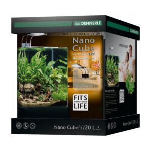 Acvariu Dennerle NanoCube Complete+ SOIL Power LED 5.0 20litri