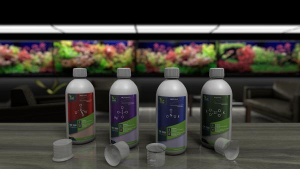 Pachet macronutrienti Plant Serum: Fosfor Magneziu Nitrat Potasiu 500ml